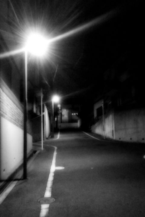 photography japan landscape black & white street bokeh