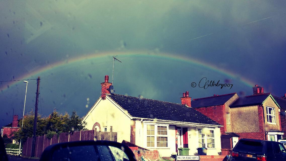 #rainbow #rain #britishweather #nature
