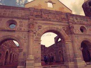 photography mexico architecture oaxaca convent