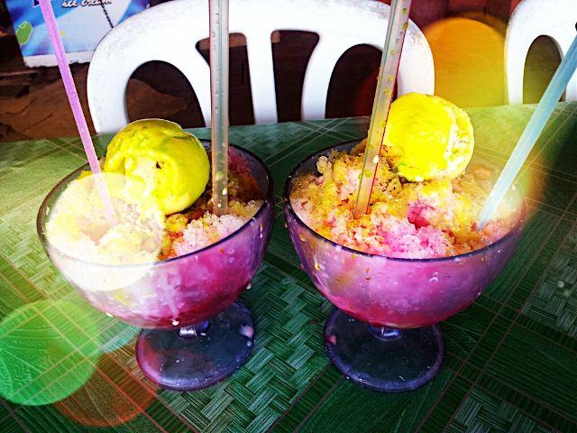 bokeh colorful food