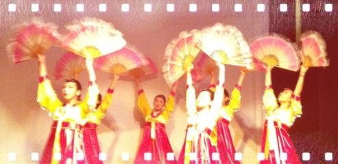 china people pink dance travel